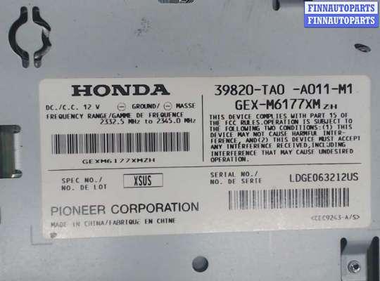 Блок управления (ЭБУ), Радиоприемником HDT0627 на Honda Crosstour