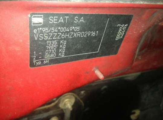 SEAT Arosa (6H)
