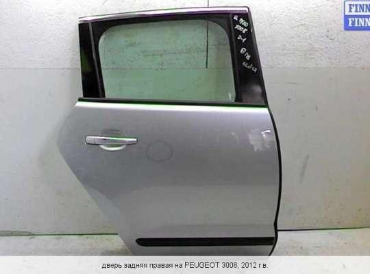 Дверь боковая на Peugeot 3008