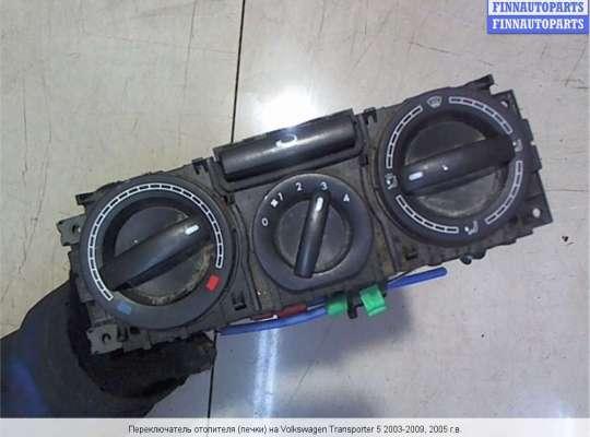 Блок управления печкой на Volkswagen Transporter T5