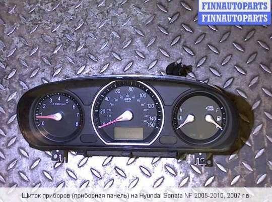 Щиток приборов на Hyundai Sonata VI (NF)