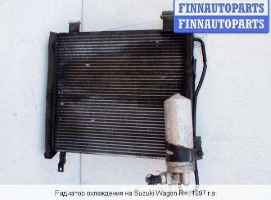 Радиатор кондиционера на Suzuki Wagon R+ (EM, MA61S)