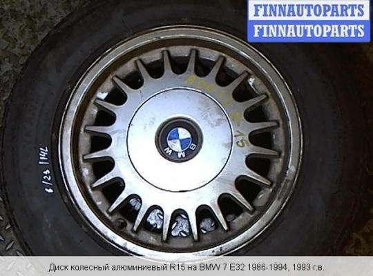 Диск колёсный на BMW 7 (E32)
