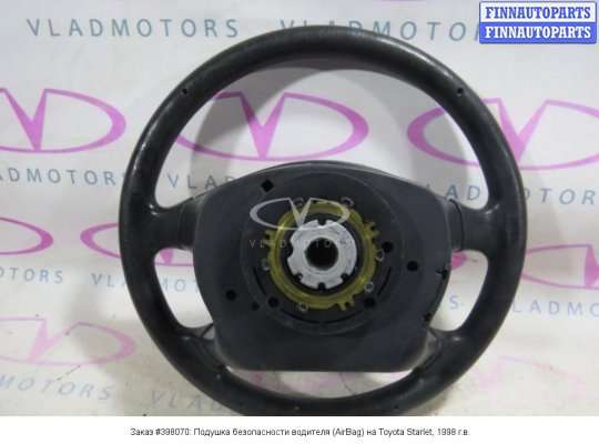 Подушка безопасности водителя (AirBag) на Toyota Starlet III P9