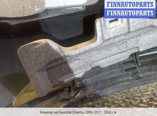 Бампер передний на Hyundai Elantra IV (HD)