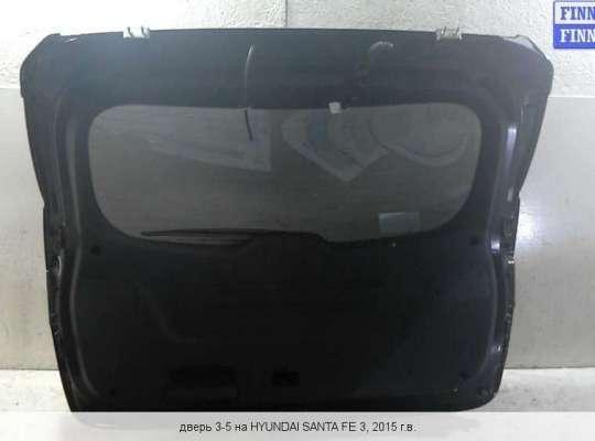Крышка багажника на Hyundai Santa Fe III (DM, NC)