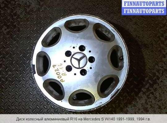 Диск колёсный на Mercedes-Benz S (W140)