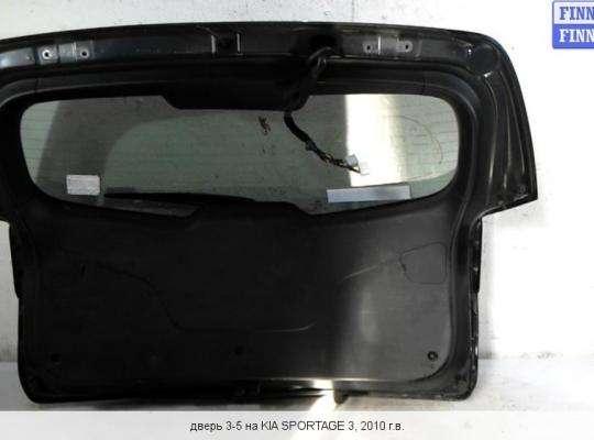 Крышка багажника на Kia Sportage III (SL)