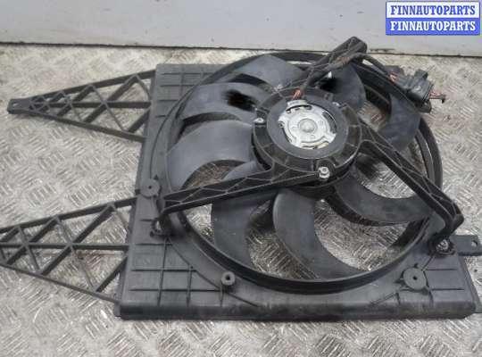 Вентилятор радиатора на Skoda Fabia II