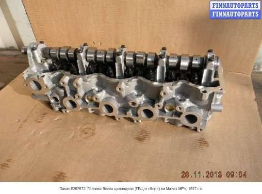 Головка блока цилиндров (ГБЦ в сборе) на Mazda MPV I LV