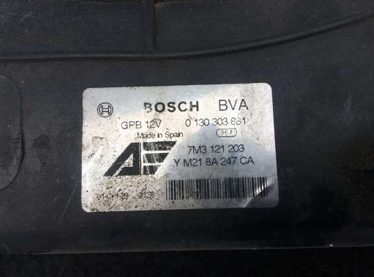 купить Диффузор (кожух) вентилятора радиатора на Volkswagen Sharan I (7M)