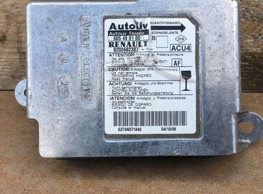 купить ЭБУ AIRBAG (электронный блок управления подушками безопасности) на Renault Megane II