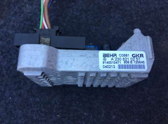 купить Резистор (сопротивление) отопителя на Mercedes-Benz E (W211)