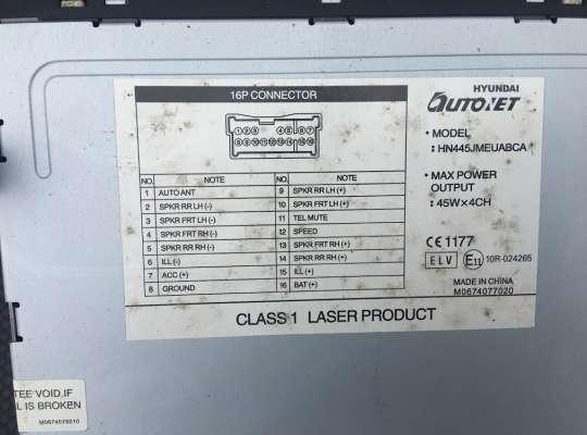 купить Магнитола на Hyundai Tucson (JM)