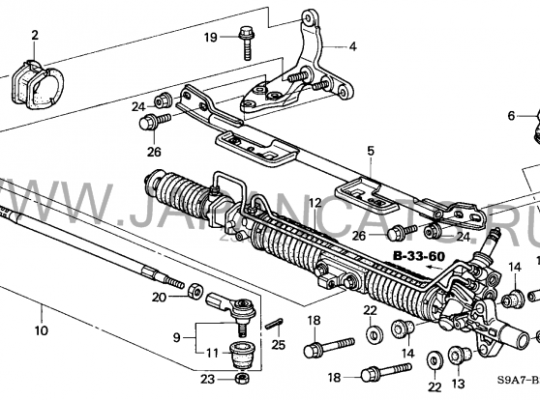 купить Кронштейн прочее на Honda CR-V II (RD_)
