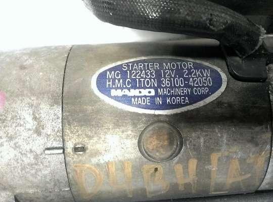 Стартер на Hyundai Galloper I