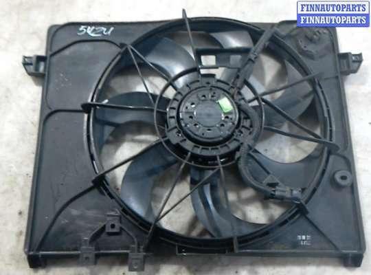 Вентилятор радиатора на Kia Carens III