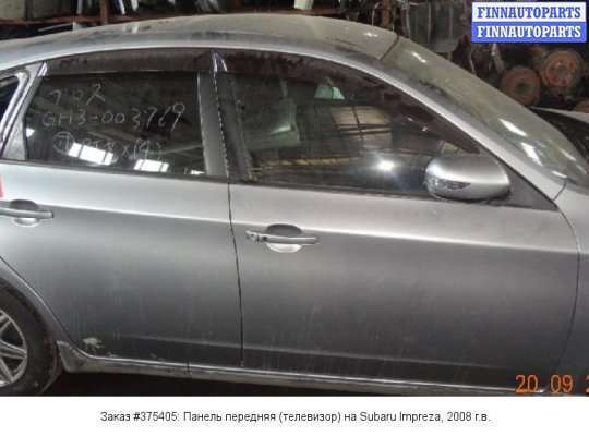 Панель передняя (телевизор) на Subaru Impreza III (GE, GH)