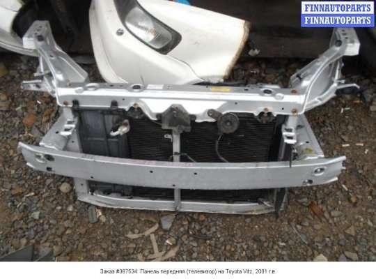 Панель передняя (телевизор) на Toyota Vitz SCP10