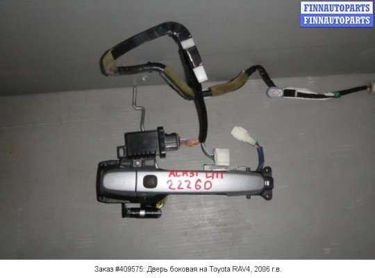 Ручка двери наружная на Toyota RAV4 III
