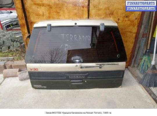 Крышка багажника на Nissan Terrano I WD21