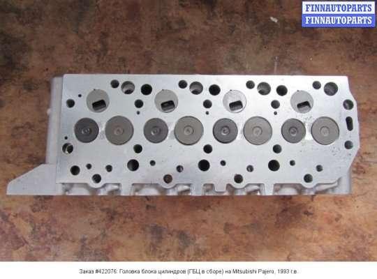Головка блока цилиндров (ГБЦ в сборе) на Mitsubishi Pajero II