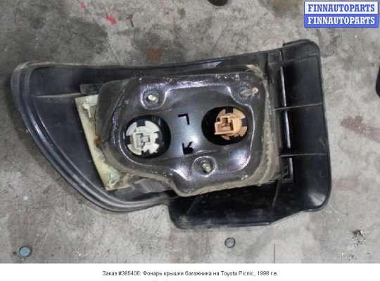 Фонарь крышки багажника на Toyota Picnic XM1