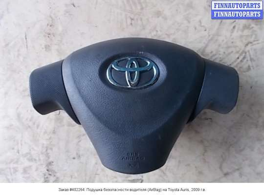 Подушка безопасности водителя (AirBag) на Toyota Auris