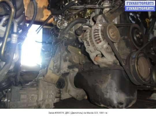 Двигатель (ДВС) B6