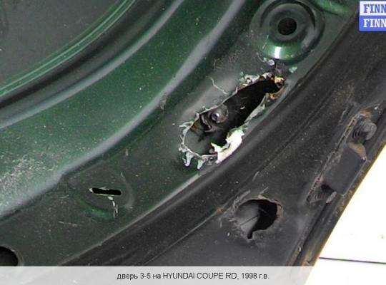 Крышка багажника на Hyundai Coupe I (RD)