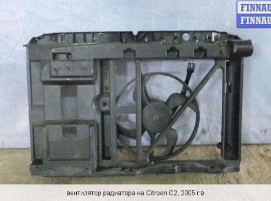 Панель передняя (телевизор) на Citroen C2
