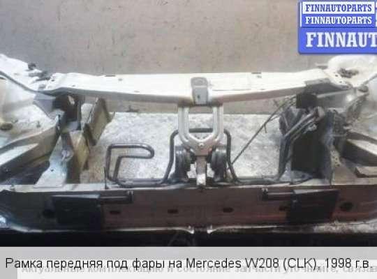 Панель передняя (телевизор) на Mercedes-Benz CLK S208