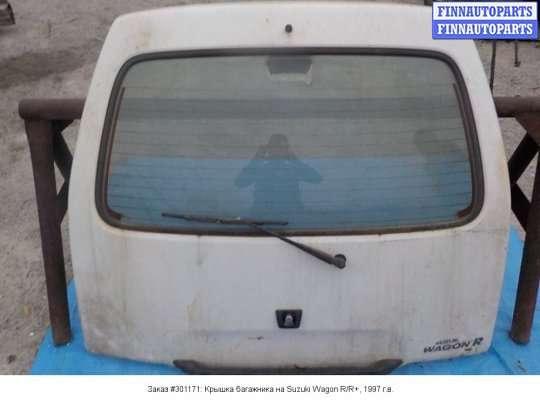 Крышка багажника на Suzuki Wagon R+ (EM, MA61S)