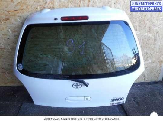 Крышка багажника на Toyota Corolla Spacio AE111N