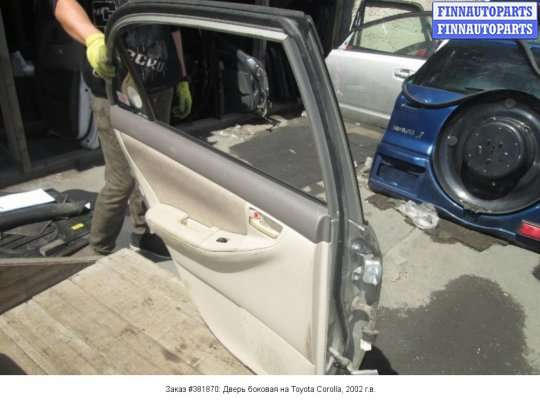 Дверь боковая на Toyota Corolla E12