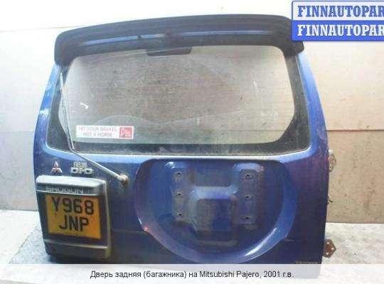 Крышка багажника на Mitsubishi Pajero III