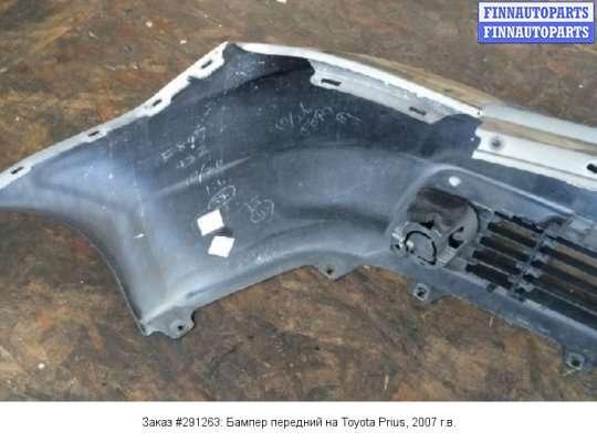 Бампер передний на Toyota Prius II