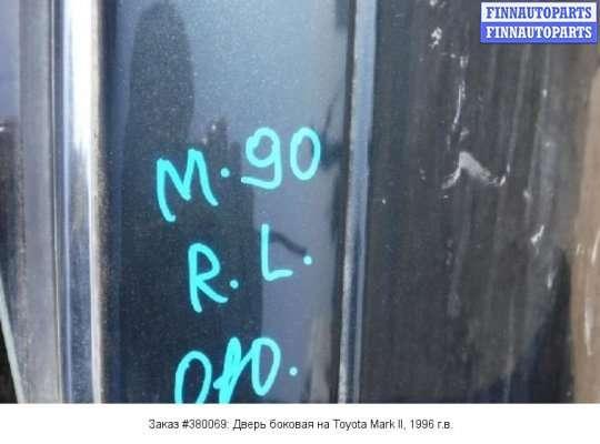 Дверь боковая на Toyota Mark GX90