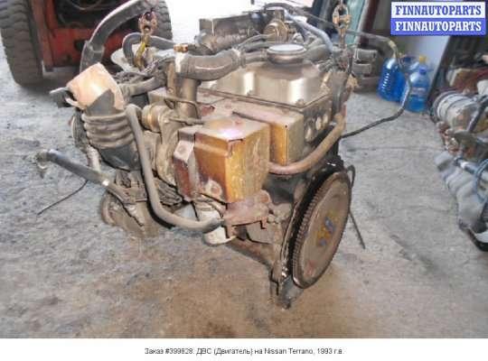 ДВС (Двигатель) на Nissan Terrano II R20