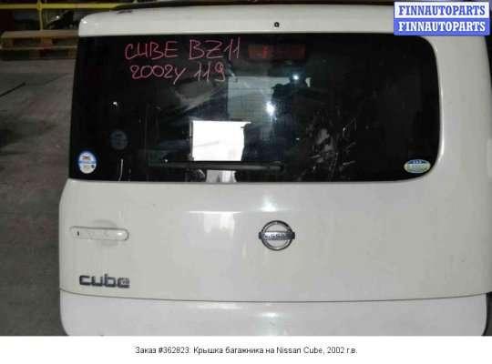 Крышка багажника на Nissan Cube Z11