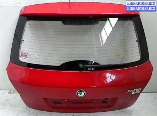 Крышка багажника на Skoda Fabia II