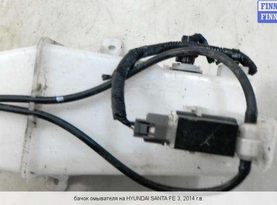 Бачок омывателя на Hyundai Santa Fe III (DM, NC)
