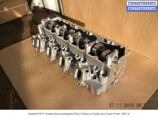 Головка блока цилиндров (ГБЦ в сборе) на Toyota Land Cruiser Prado 90