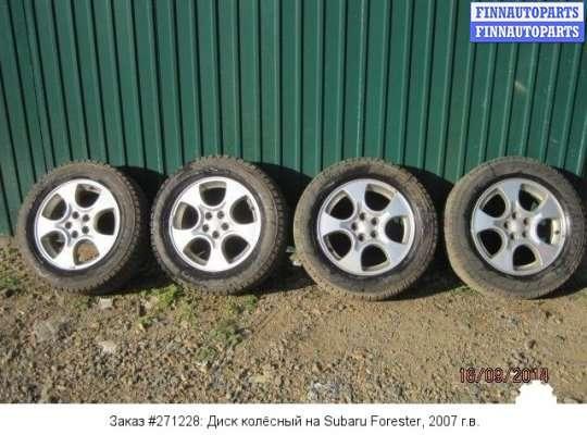 Диск колёсный на Subaru Forester SG