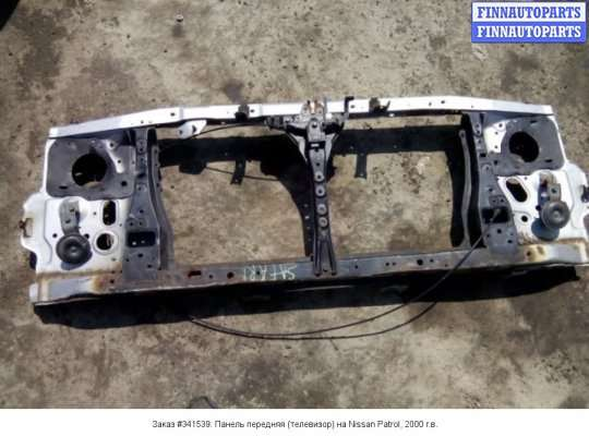 Панель передняя (телевизор) на Nissan Patrol GR II (Y61)