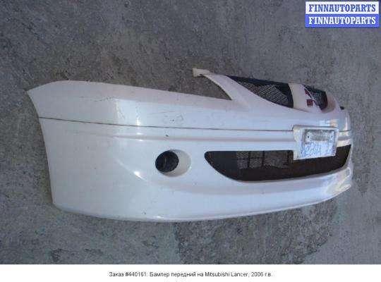 Бампер передний на Mitsubishi Lancer IX