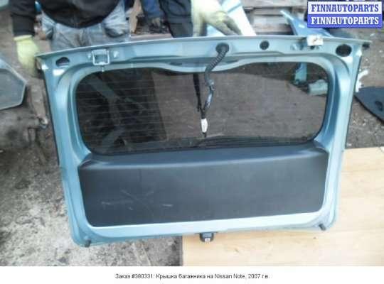 Крышка багажника на Nissan Note (E11)
