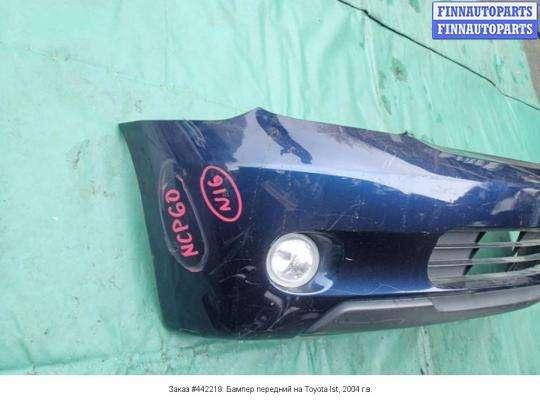 Бампер передний на Toyota Ist (NCP60)