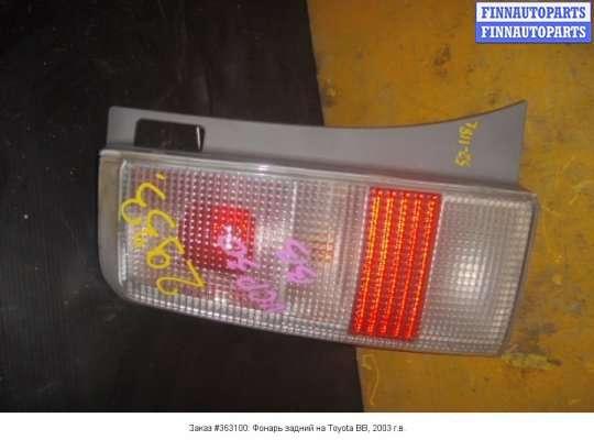 Фонарь задний на Toyota BB (NCP30)