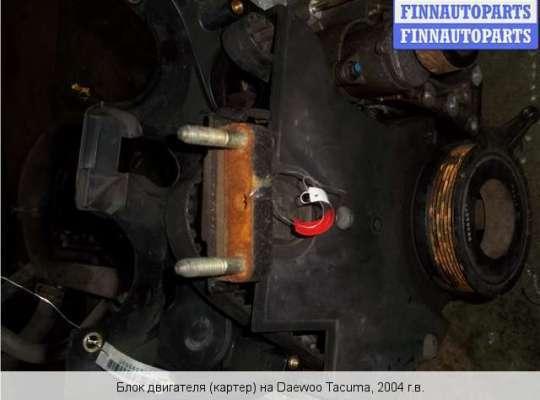 Блок ДВС (цилиндров) / Коленвал на Chevrolet Rezzo
